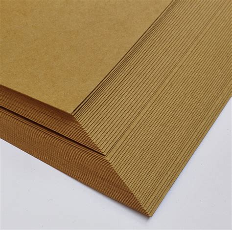 craft cardstock paper 210 297mm a4 blank matte brown kraft cardstock paper
