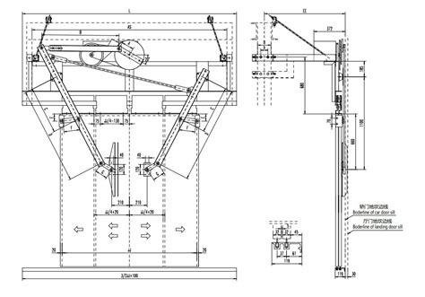 test apertura porte automatic door sistema de apertura de la puerta
