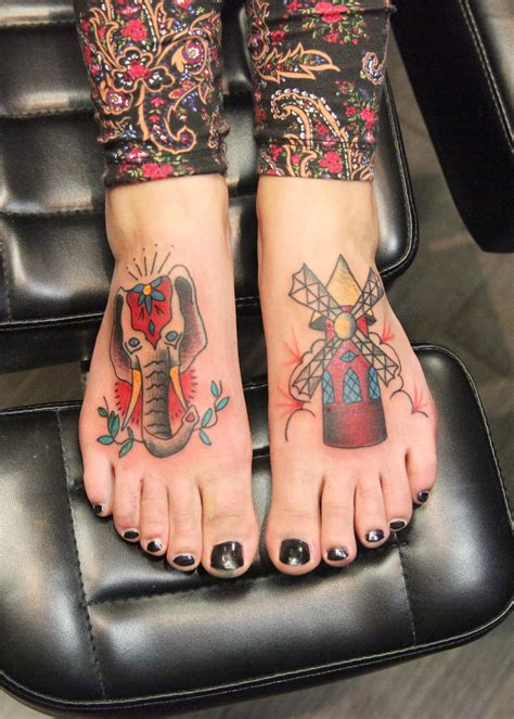 moulin rouge tattoo american traditional tattoos inspired by moulin done