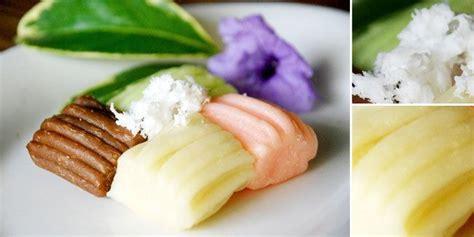 kuliner  resep jajanan pasar tradisional getuk lindri