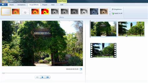 windows live movie maker tutorial visual effects windows live movie maker visual effects youtube