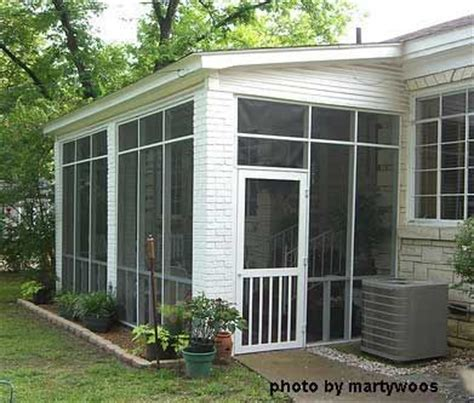 shed roof screened porch screened porches screened porch note the brick