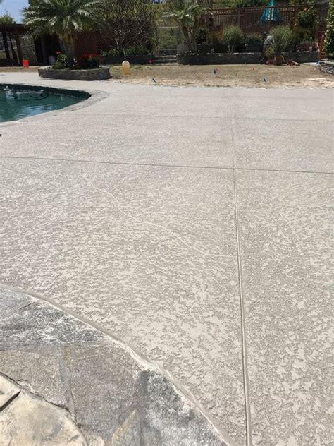 sundek classic texture orange county concrete coating