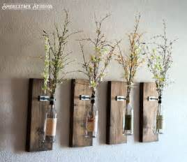 wall vase decor 25 best ideas about wall vases on hanging