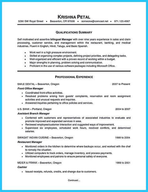 starting successful career from a great bank manager resume starting successful career from a great bank manager resume