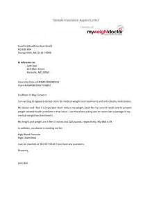 Appeal Letter Health Insurance Best Photos Of Appeal Letters Exles Insurance Appeal Letter Sle
