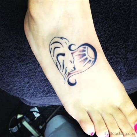 28 incredible lion tattoos on foot
