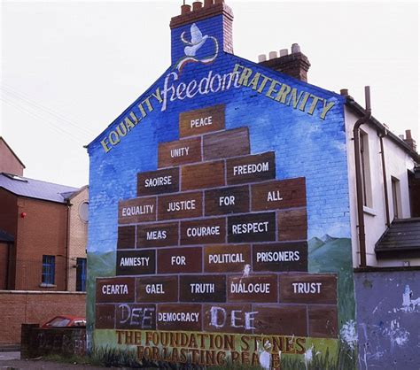 Belfast Wall Murals northern ireland s troubles could help boost tourism