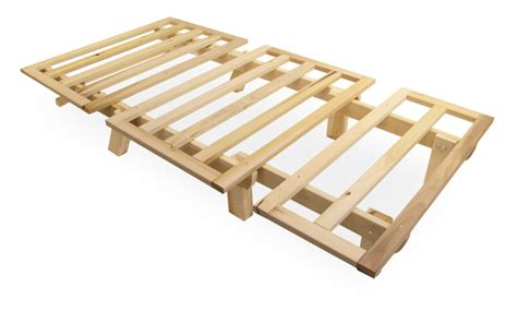 basic bed frame futon tri fold