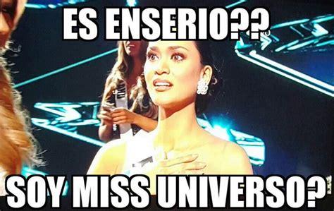 imagenes de miss universo graciosas mira aqu 237 los memes de la equivocaci 243 n en miss universo