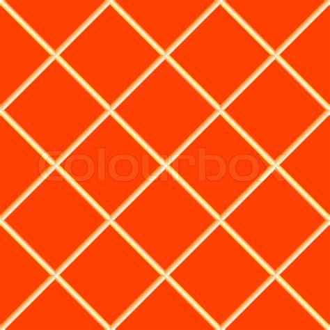 Orange seamless ceramic tiles stock vector colourbox