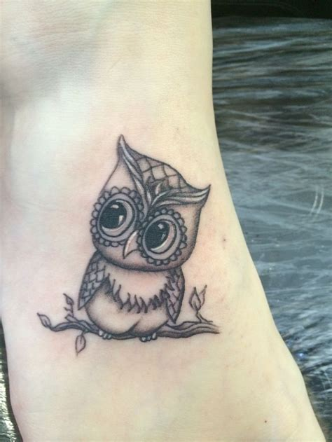 cute small owl tattoos best 25 owl foot tattoos ideas on owl tattoos