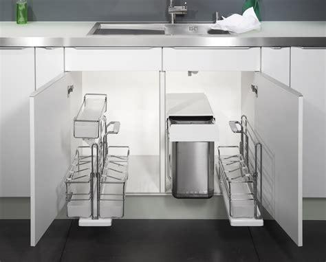amenagement meuble sous evier accesoires cuisine sous 233 vier