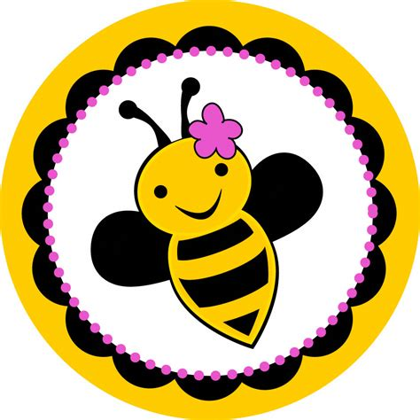 printable bee stickers bumble bee stickers set of 25