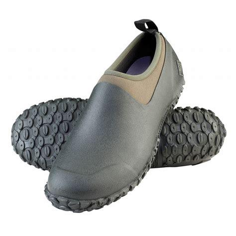 mens muck boots muck boots s muckster ii waterproof shoe moss green