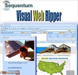 tutorial visual web ripper سايت تخصصي نرم افزار ذخیره کامل صفحات وبسایت بر روی هارد