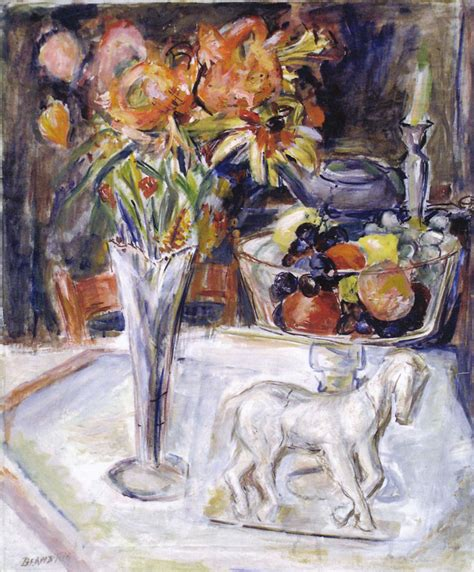 still life horse and flowers 1930s theresa bernstein