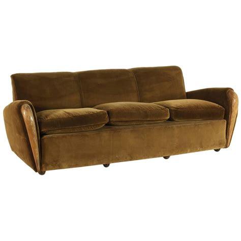 1930s couch three seater sofa by osvaldo borsani italy 1930s 1940s