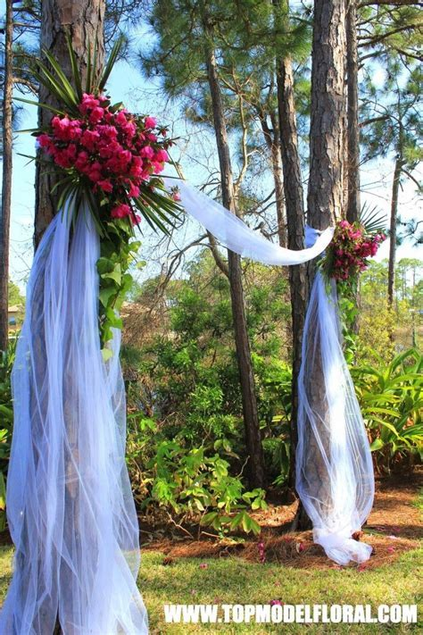 ideas to make your own wedding arch   Natural Azalea