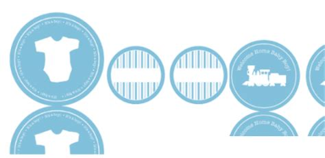 Cupcake Chandelier Stand Free Baby Shower Labels In Printable Pdf Worldlabel Blog