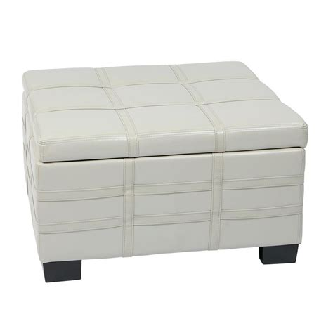 cream storage ottoman ave six detour cream storage ottoman dtr3030s cmbd the