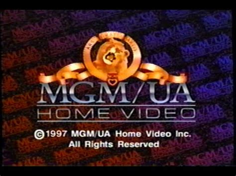 mgm ua home 1997 company logo vhs capture