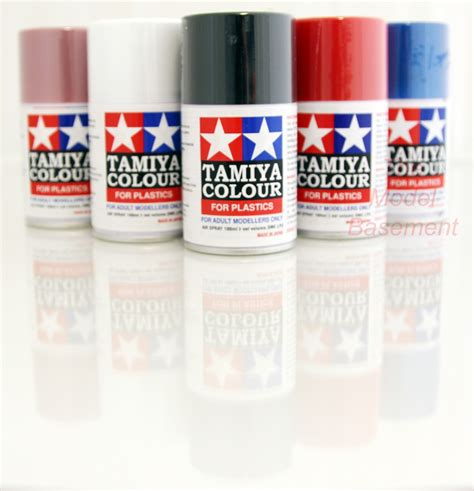 tamiya ts 100ml acrylic spray paint can various colours finishes