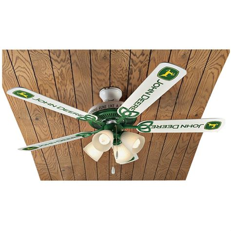 Deere Ceiling Fans Lighting Fixtures John Deere 174 5 Blade Ceiling Fan 135010 Lighting At