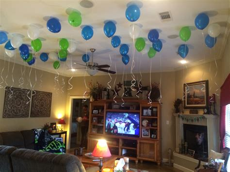how to decorate new house football party not just a man s game easy peasy pleasy