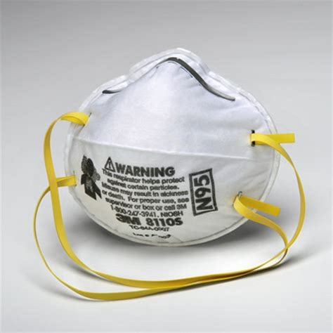 Masker N95 3m n95 dust mask small model mmm 8110s box of 20