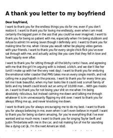 Break Letters Boyfriend Examples the boyfriend letters making fun letter sample letters templates break