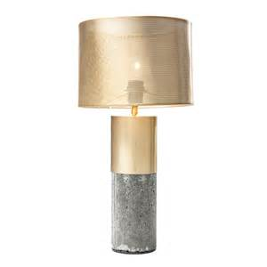 Bedroom Storage Chest brass and concrete table lamp dwell