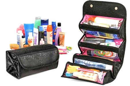 Jual Rak Kosmetik Surabaya roll and go make up organizer 256 barang unik china