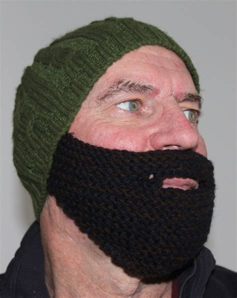 knitted beard grow a middle eastern beard in 2 hours knit