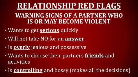 Key Warning Signals That Your Relationship Is On Rocky Ground by Warning Signs Of Unhealthy Relationships Ppt