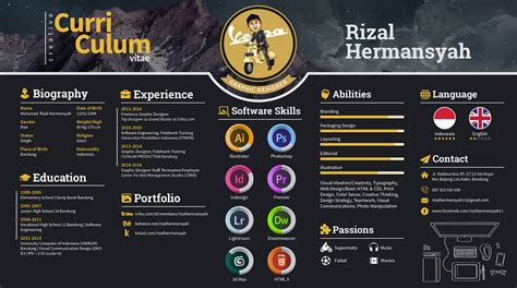 curriculum vitae sle for designer how i got my as a graphic designer