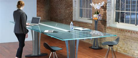 Dining Room Table Bases For Glass Tops modern conference tables stoneline designs