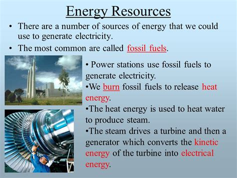generating electricity ppt