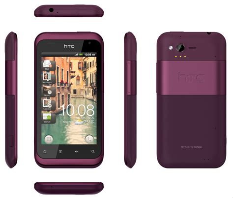 htc rhyme bluetooth wifi gps android pda phone verizon