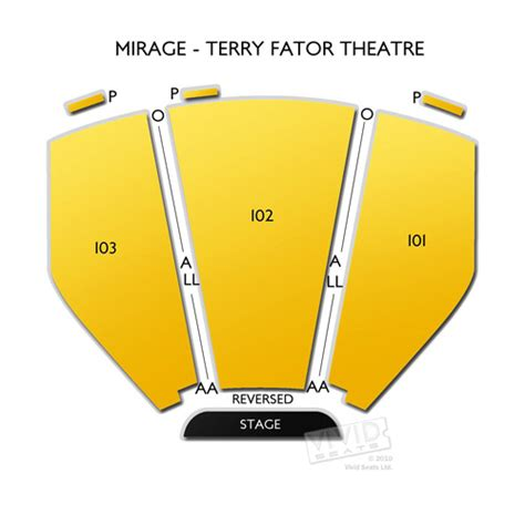 the mirage seating chart mirage terry fator theatre tickets mirage terry