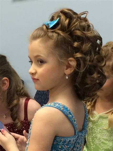 easy pageant hairstyles teens 30 best curly hairstyles for kids beauty pageant