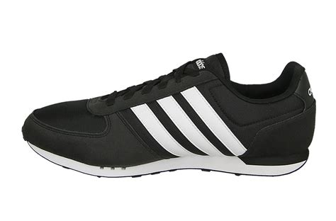 Adidas Neo City Racer Black White List Bnwb adidas neo city racer black