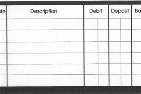 checkbook balance template blank checkbook register printable free calendar