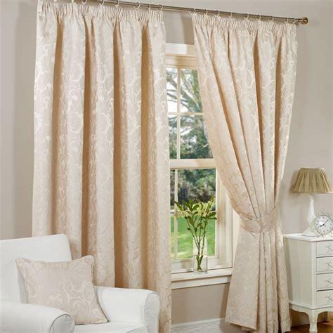 curtain widths and drops fusion monaco curtains 45 quot width x 54 quot drop natural