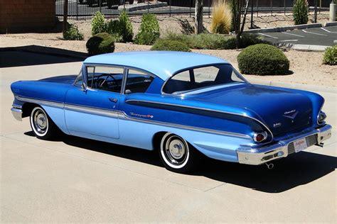 Two Car Garage Size 1958 chevrolet biscayne 2 door post sedan 187489