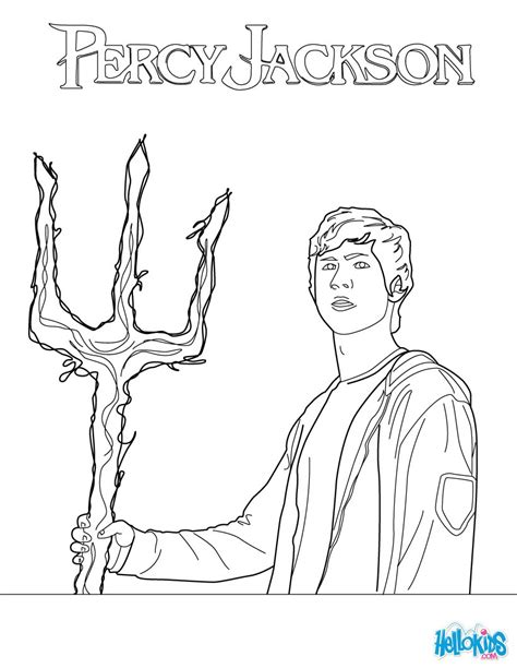 percy jackson coloring book activity book for children and books poseidon s coloring pages hellokids