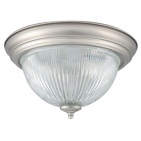 satin nickel flush mount ceiling light edison windee 2 light black indoor flush mount ld 4221