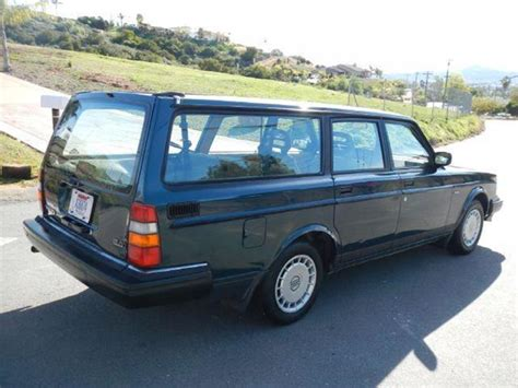 1992 volvo wagon 1992 volvo 240 wagon in el cajon ca 1 owner car