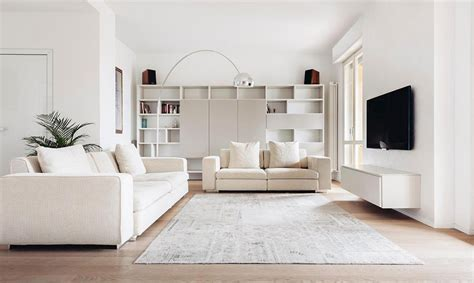 white living room interior design all white interior design home design