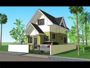 attic house design attic house model 3d elevations and plans youtube